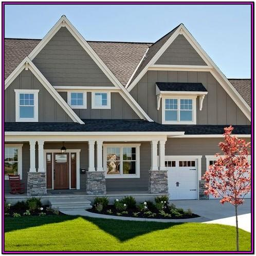 Gray Exterior House Paint Ideas Uk