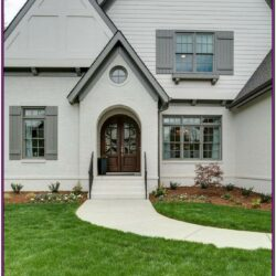 Grey Exterior Home Color Schemes 1