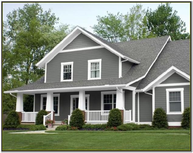 Grey Exterior House Colour Schemes