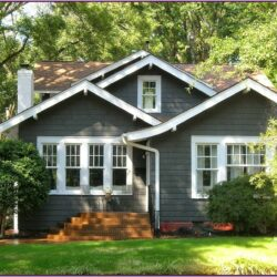 Grey Exterior Paint Color Schemes 1