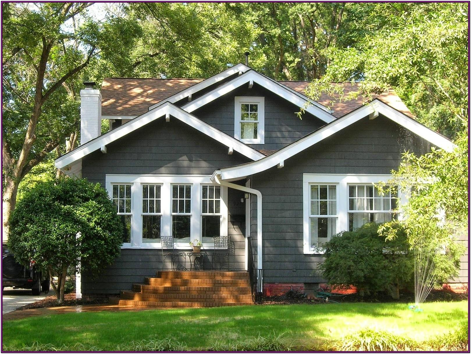 Grey Exterior Paint Color Schemes