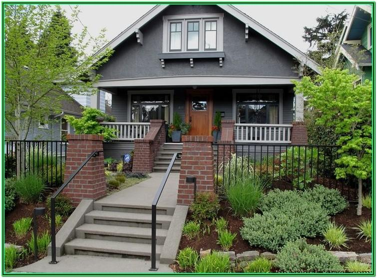 house exterior color schemes red brick