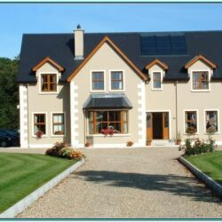 House Exterior Colour Schemes Ireland 1