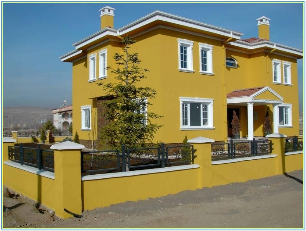 House Paint Colours Exterior Combinations India