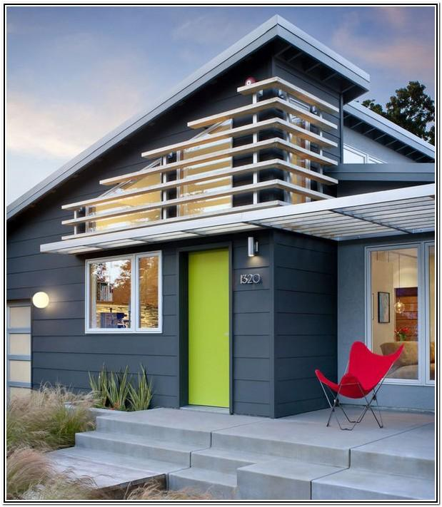Modern Exterior House Colour Schemes