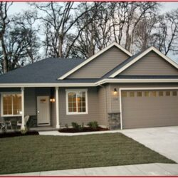 Modern Exterior Paint Color Ideas 1