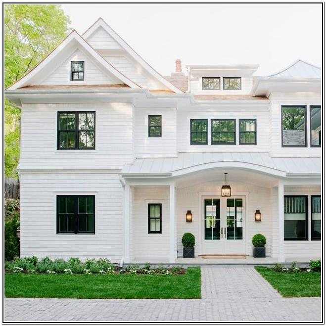 Modern Farmhouse Exterior Paint Color Combinations