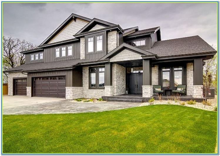 Modern Home Exterior Colours