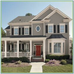 New Trends Exterior House Paint Colors 1