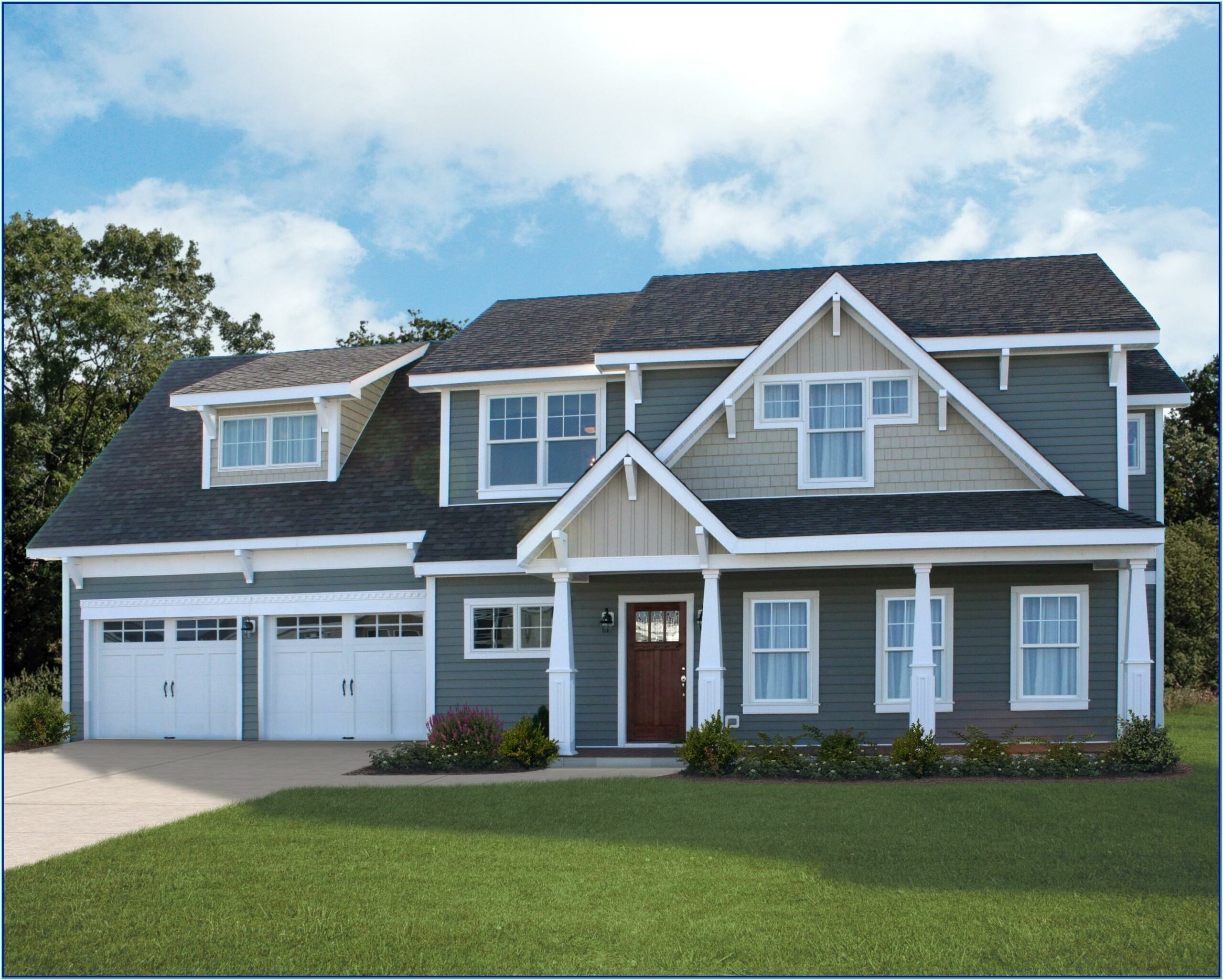 Paint Color Combinations For House Exterior
