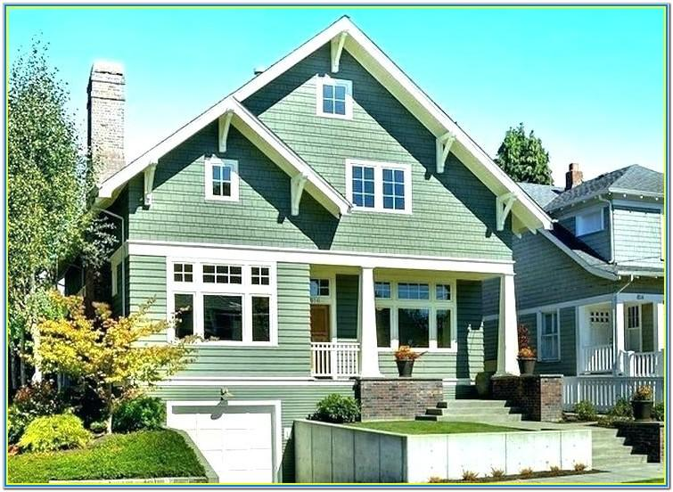 Top Exterior House Paint Colors 2018