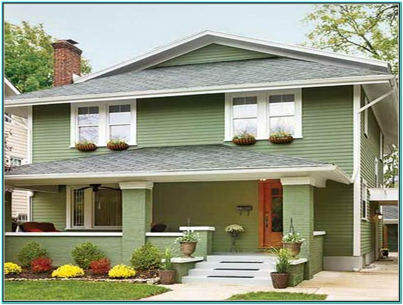 Top Green Exterior Paint Colors