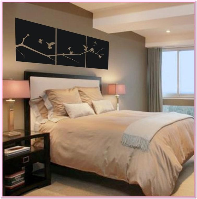 Above Bed Painting Ideas