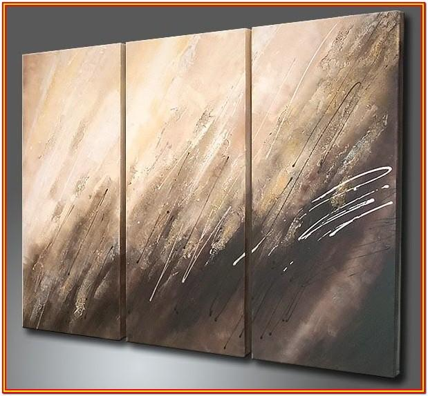 abstract canvas painting ideas