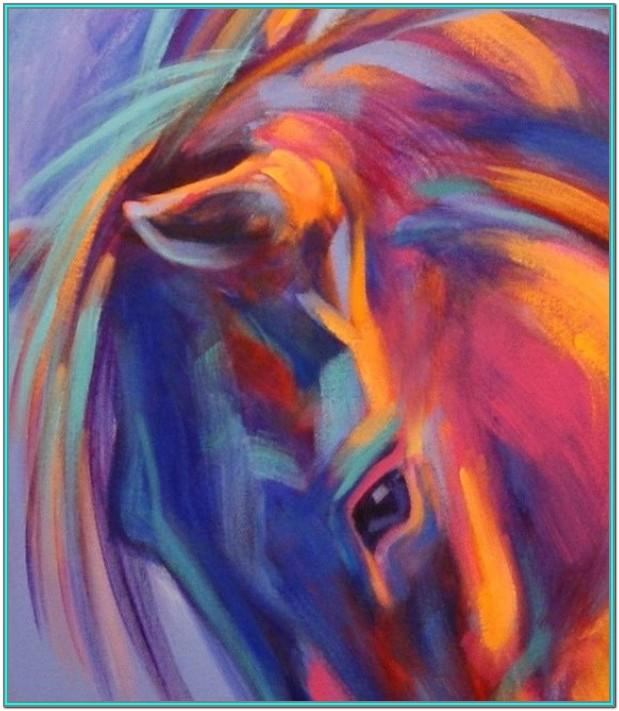 abstract oil painting ideas for beginners