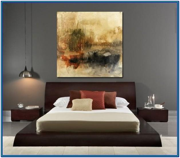 Abstract Painting Ideas For Bedroom