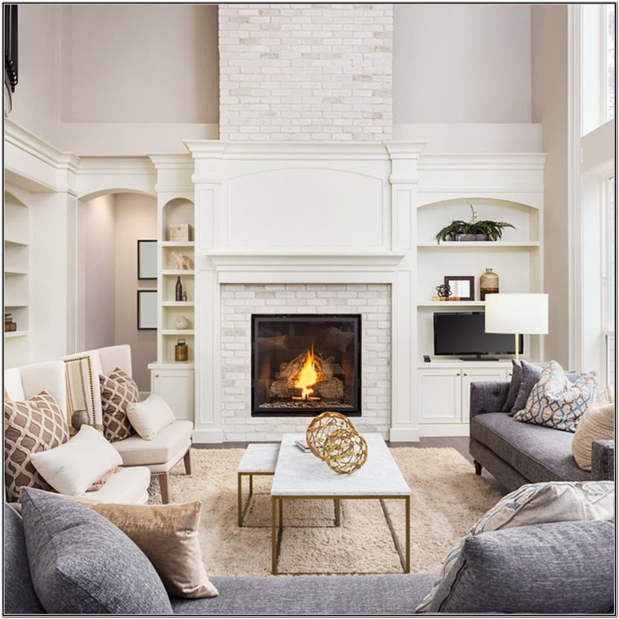 Accent Wall Paint Ideas Fireplace