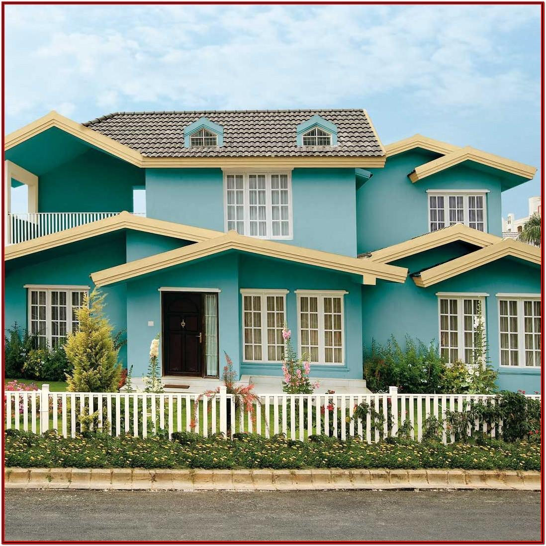 Asian Paints Colour Shades Exterior Wall