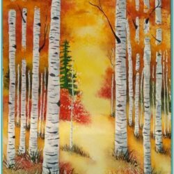 Autumn Acrylic Painting Ideas