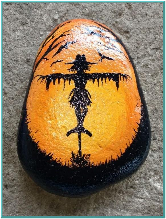 Autumn Rock Painting Ideas