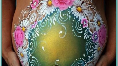 Baby Belly Painting Ideas