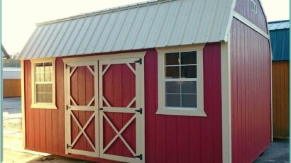 Barn Shed Paint Ideas