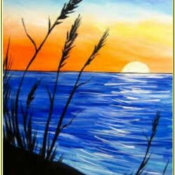 Beach Painting Ideas Easy