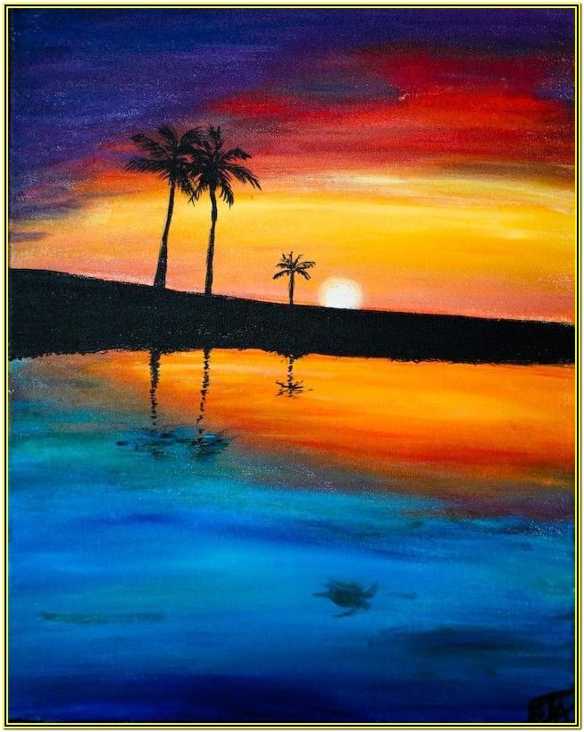 Beach Painting Ideas For Beginners
