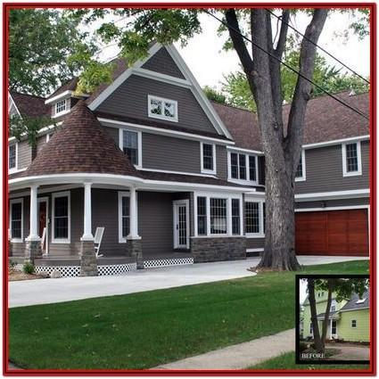 Best Exterior House Colors With Brown Roof