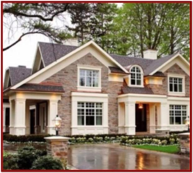 Best Exterior Paint Colors With Brown Brick