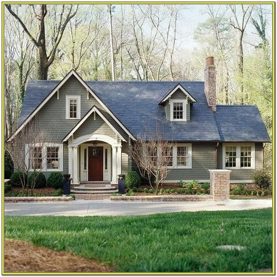 Best Gray Green Exterior Paint Colors