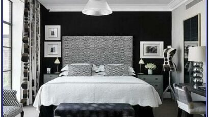 Black And White Paint Bedroom Ideas