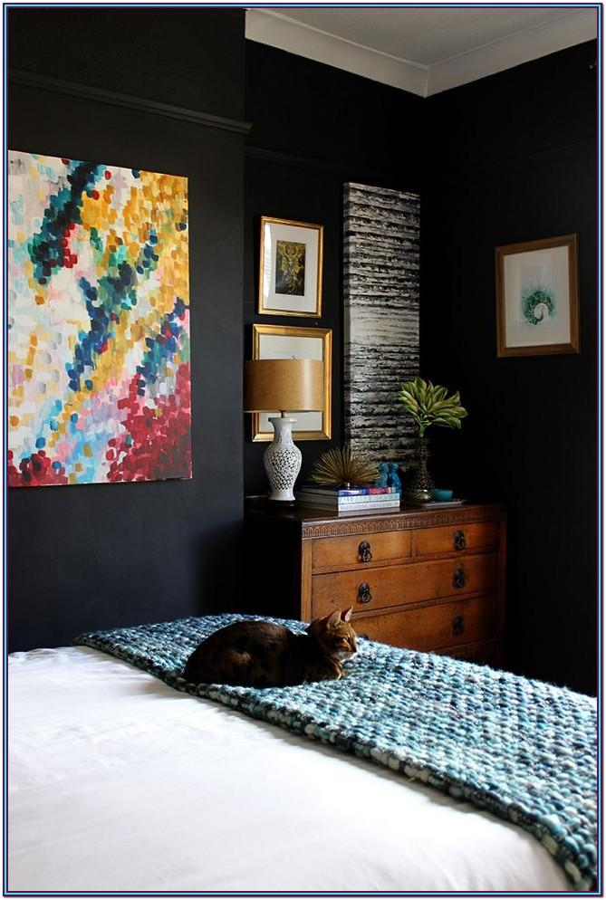 Black Bedroom Paint Colors