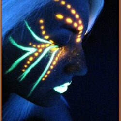 Black Light Painting Ideas