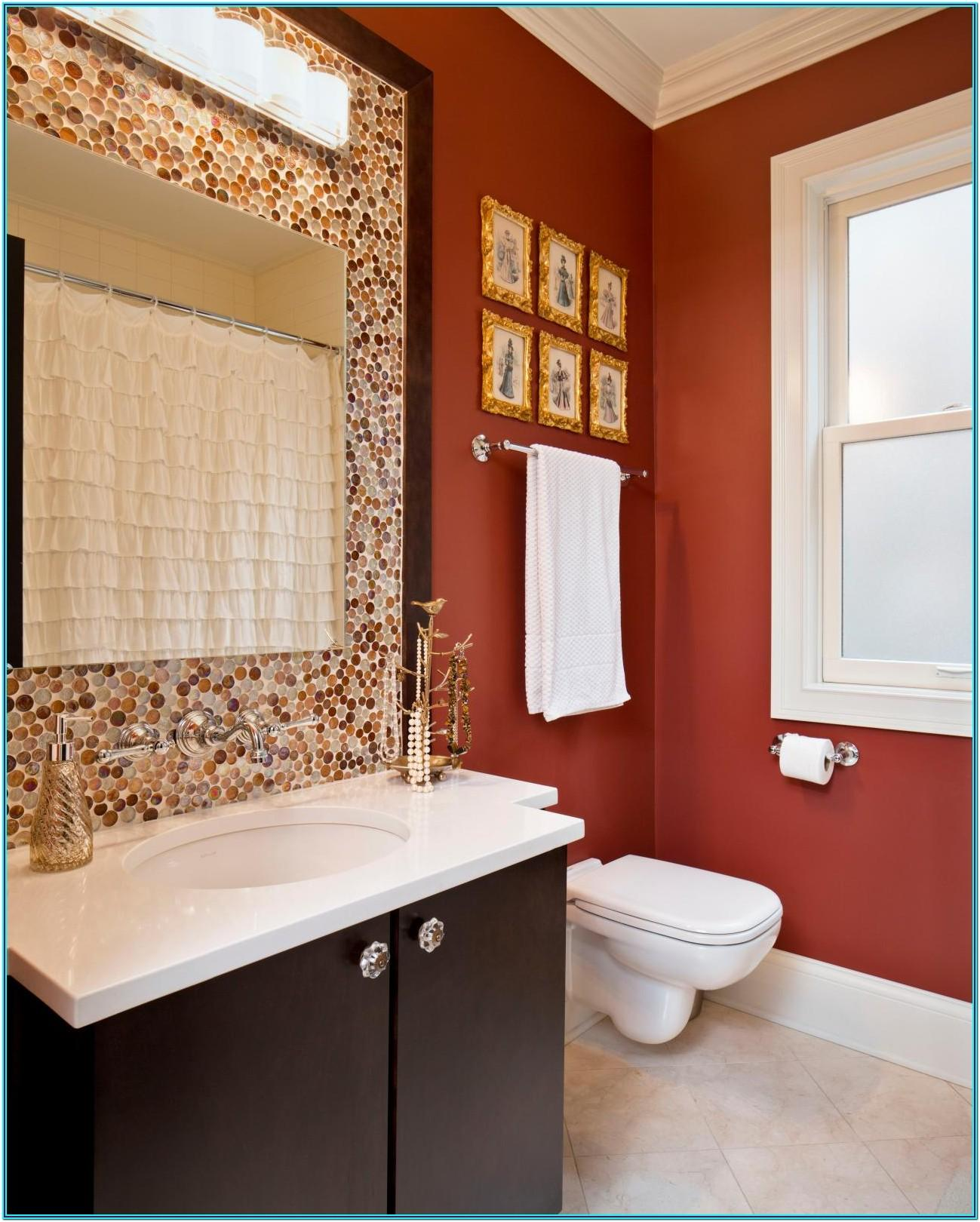 Bold Paint Colors For Bathrooms