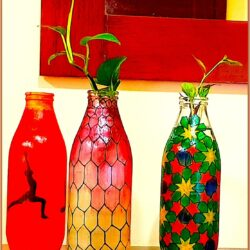Bottle Painting Ideas Easy