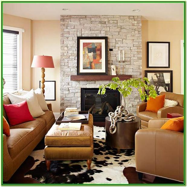 Brown And Gold Living Room Decor