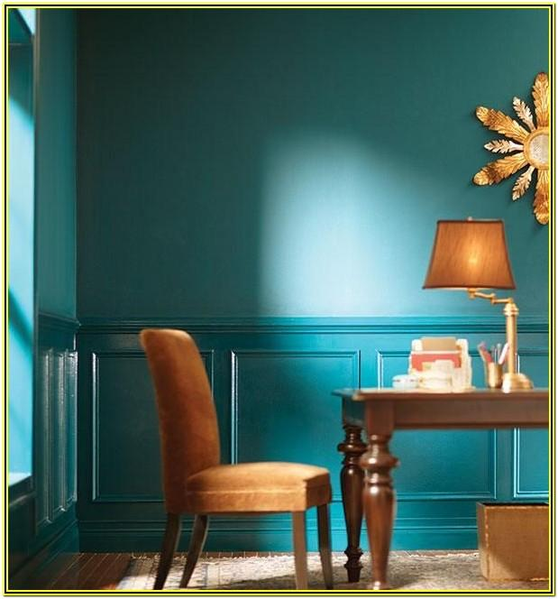 Brown Wainscoting Painting Ideas