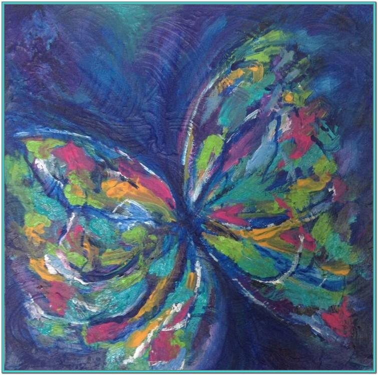 Butterfly Acrylic Painting Ideas