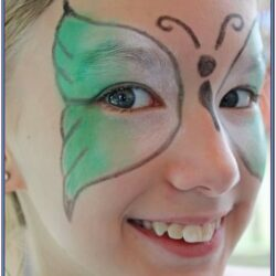 Butterfly Face Paint Ideas Easy