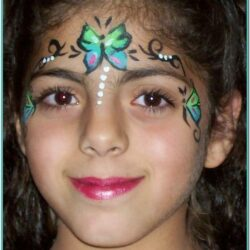 Butterfly Face Painting Ideas