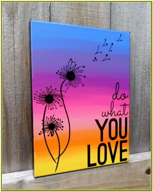 Canvas Painting Ideas Easy