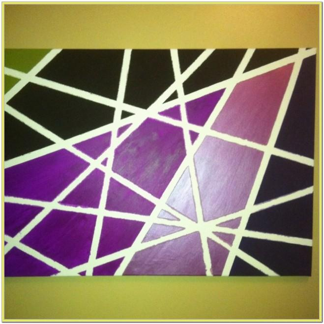 Canvas Tape Painting Ideas