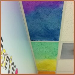 Ceiling Tile Painting Ideas