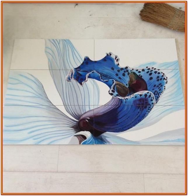 ceramic tile painting ideas