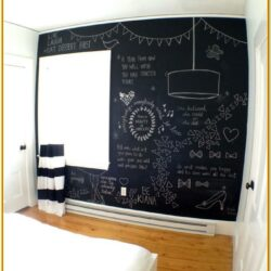 Chalk Paint Wall Designs