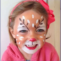Childrens Christmas Face Painting Ideas