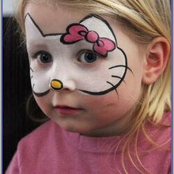 Childrens Funny Face Painting Ideas