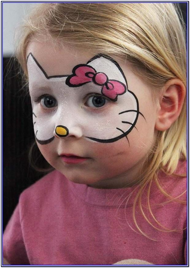 Children's Funny Face Painting Ideas