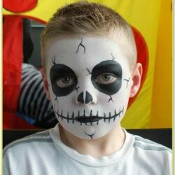 Childrens Scary Face Paint Ideas